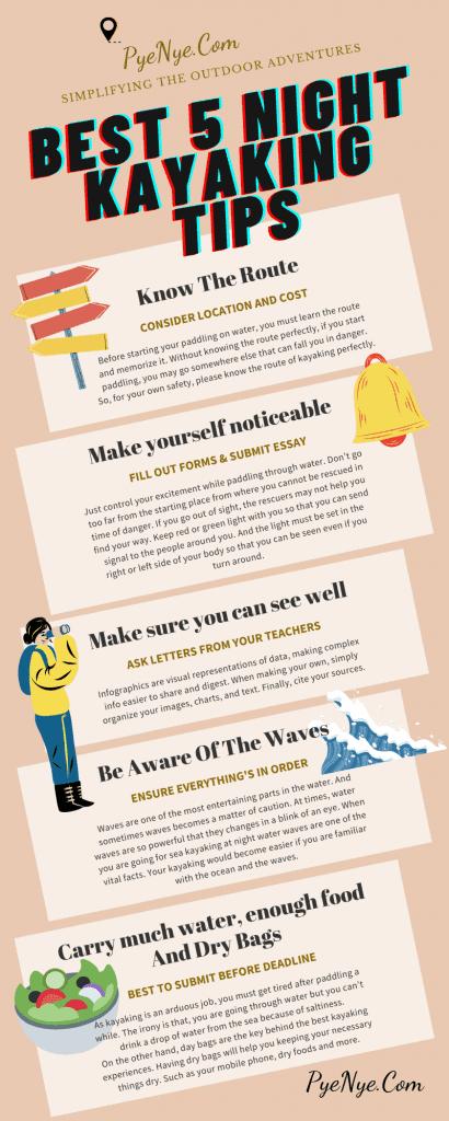 Night Kayaking Tips