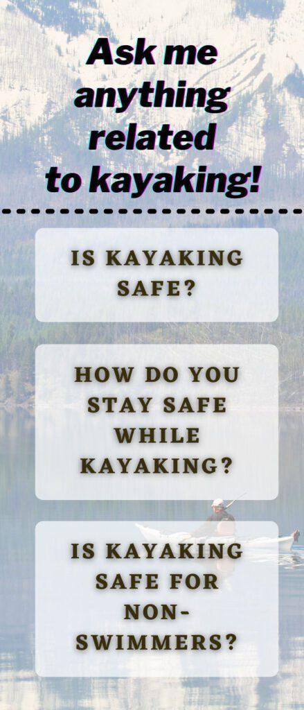 Kayaking Safety, Safety Tips For Kayaking, Kayaking Safety Regulation.